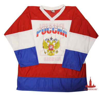 "Hockey Sweater ""Russia"" Putin"