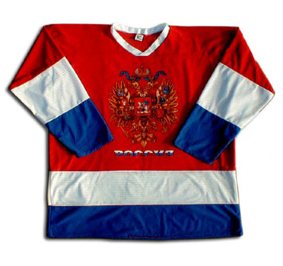 "Hockey Sweater ""Russia"""