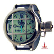 "Diving phosphor watch ""Saboteur"""