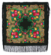 "Pavloposadskie handkerchief ""Stranger"""