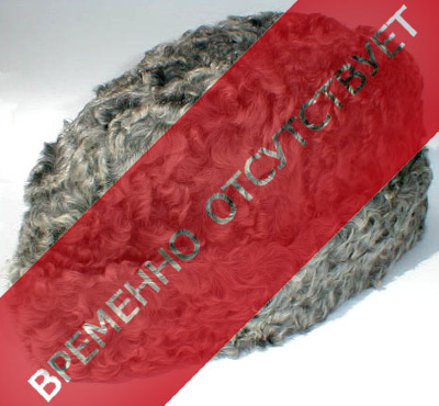 "Hat ""Muscovite""   At the caps have another name - ""Gorbachevka"" fur, silver scrawl. Fur has a characteristic soft, dense and silky properties. Warm hat is shaped like a tailgate caps."