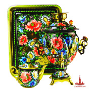 "Samovar set ""Flower"""