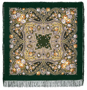 "Pavloposadskie shawl ""Feast of the Protection"""