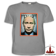 T-shirt with Putin «Putin Time»