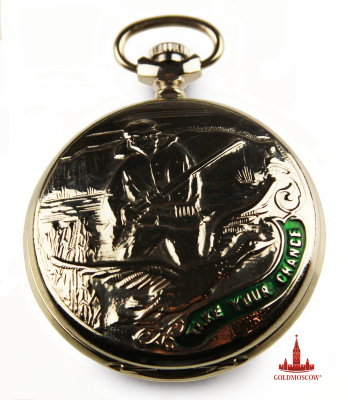 "Pocket Watch ""Hunter""  Each luck and destiny gives a chance, you only need to be ready to meet him. It is important to only one truly recognize it. And the secret is that if you as a result of his awareness will feel calm and free - this is it! Everything else is just an illusion and self-deception.   Take your chance, and maybe this watch will bring you happiness time!   Good luck!"