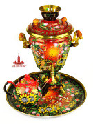"Samovar set of ""Red Summer"""