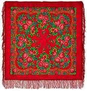 "Pavloposadskie handkerchief ""Matryoshka"""