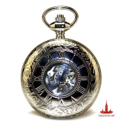 "Pocket Watch ""Retro Skeleton"""