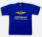 "Shirt ""Aeroflot blue"""