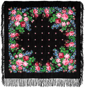 "Pavloposadskie handkerchief ""Varvara"""